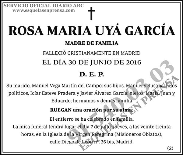 Rosa María Uyá García